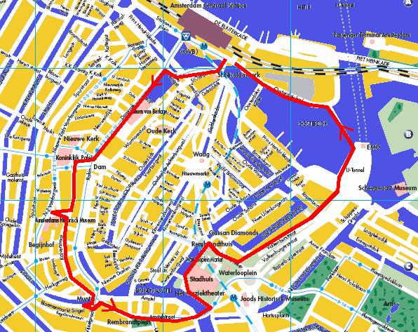 Amsterdam centre ville arts et voyages for Appart hotel amsterdam centre ville